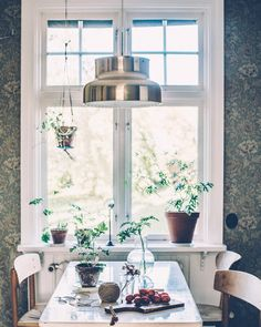 Kitchen, dining room home of, and photo by Kristin Lagerqvist, Krickelin. - Home Decor Ideas Decor, House Design, House, Home, House Interior, Home Deco, Home Kitchens, Interior Design, Home And Living
