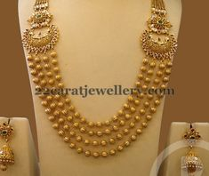Jewellery Designs: Long Set by Bombay Jewellery Tikkle Road