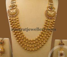 Jewellery Designs: Long Set by Bombay Jewellery Tikkle Road
