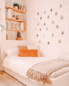 Cute Bedroom Decor, Bedroom Decor For Teen Girls, Cute Bedroom Ideas, Room Design Bedroom, Room Ideas Bedroom, Boho Teen Bedroom, Bedroom Inspo, Dream Bedroom, Boho Room