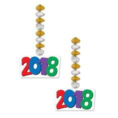 """2018 Danglers 30"""", Browse through our excellent range of  Christmas & New Year Decoration & Accessories. More Detail visit our online store......"""