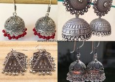 Five best Jhumka designs you must own!!! - South India Jewels