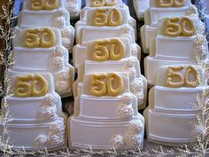 wedding anniversary cookies, the kids would love frosted sugar cookies 50th Anniversary Cookies, 50th Wedding Anniversary Cakes, Golden Anniversary, Anniversary Parties, Anniversary Ideas, Wedding Aniversary, Royal Icing Cookies, Sugar Cookies, Cake Cookies
