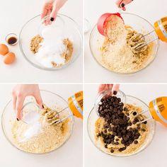 Almond flour is the secret ingredient in this Gluten-Free Blondie recipe.