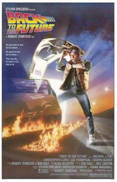Back To The Future Part 1 from Steven Spielberg..