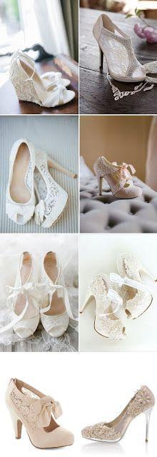 Εκπληκτικά νυφικά παπούτσια για την δική σου μέρα!!!