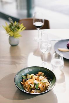 Head Chef Michael Deg serves up beautiful creations at Cavalli Estate in the Stellenbosch Winelands Growing Seeds, Real Food Recipes, Lunch, Dishes, Dining, Vegetables, Beautiful, Gourmet, Food