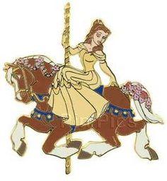 Princess Carousel Horse (Belle)