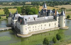 Château du Plessis-Bourré is a château in the Loire Valley in France, situated in the commune of Écuillé in the Maine-et-Loire department. Built in less than 5 years from 1468 to 1472 by Finance Minister Jean Bourré, the principal advisor to King Louis XI. The château has not been modified externally since its construction and still has a fully working drawbridge. It was classified as a Monument historique in 1931.  Photo credit - angersloiretourisme.com