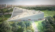 SANAA has been chosen ahead of snøhetta to build the new national gallery of hungary, part of a large cultural masterplan in budapest.