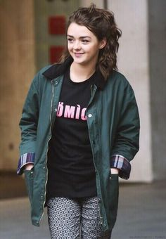 Maisie Williams from Game of Thrones would be great as Esther in SEABOUND.