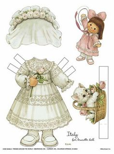 Album Archive - Antique paper dolls and paper toys to make Paper Art, Paper Crafts, Paper Dolls Printable, Vintage Paper Dolls, Little Doll, Paper Toys, Doll Toys, American Girl, Doll Clothes