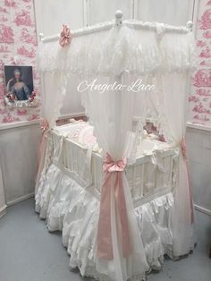 Four Poster Baby Bed