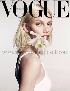 nice Vogue Tailândia Fevereiro 2014 | Aline Weber por Nat Prakobsantisuk  [Capa]