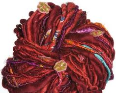 Knit Collage Rolling Stone Yarn - Sangria Wine