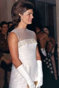Jackie Kennedy, made just months after the assassination of her husband President John F Kennedy