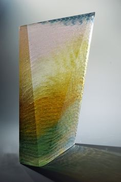 East, 2015 Cast and carved glass Patrick Blythe, Artist