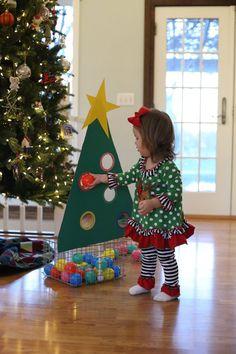 Toddler Christmas Tree Ball Drop