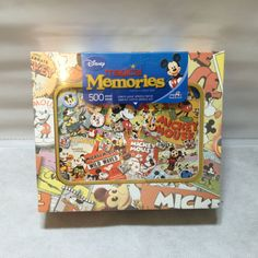 Disney Magical Memories 500 Piece Jigsaw Puzzle Disney La Frenesie Mega Mickey Mouse Toys, Disney Mickey Mouse, Jigsaw Puzzels, Snack Recipes, Snacks, 500 Piece Jigsaw Puzzles, Pop Tarts, Board Games, Memories