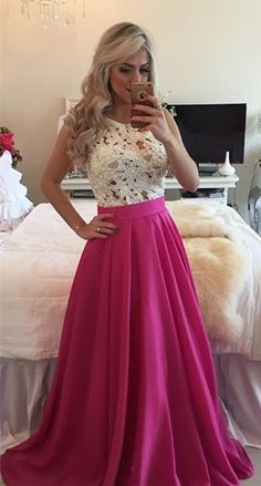 lace beaded prom dresses_prom dresses for teens_evening dresses long_evening gowns lace Prom Dresses Long Pink, Prom Dresses For Teens, Cheap Prom Dresses, Pretty Dresses, Beautiful Dresses, Formal Dresses, Dress Prom, Dress Long, Prom Gowns