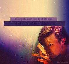 Tick Tock goes the clock, the doctor dies tomorrow