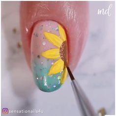 Trendy Nails, Cute Nails, Nagellack Design, Nail Art Videos, Garra, Pedicure, Hair And Nails, Nail Colors, Nail Art Designs