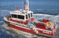 Perth Amboy Fire Department - Marine 5 - 39' Fire/Rescue Boat