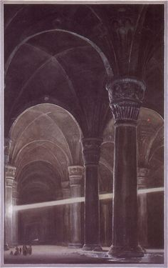 The Lord of the Rings - Alan Lee Art - The Halls of Durin