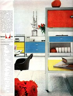 For Throwback Thursday, a classic Herman Miller ad, featuring a black Eames fiberglass arm chair Furniture Stores Nyc, Buy Furniture Online, Mid Century Decor, Mid Century Furniture, Vintage Advertisements, Vintage Ads, Diy Kids Furniture, Furniture Ads, Vintage Furniture