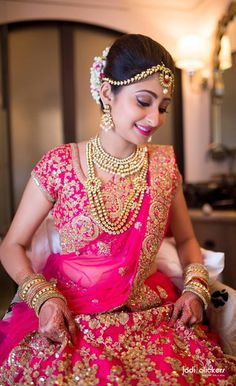 This app includes a collection of best handpicked Indian Bridal Dresses. Indian Bridal Wear, Indian Wedding Outfits, Indian Wear, Indian Outfits, Indian Weddings, Bridal Lehenga, Saree Wedding, Wedding Bride, Bridal Chura