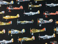 Hey, I found this really awesome Etsy listing at https://www.etsy.com/listing/249701699/airplane-fabric-by-the-yard-half-fat