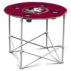 NCAA-Florida-State-Seminoles-Round-Tailgating-Table