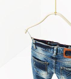 Jeans efecto lavado-JEANS-NIÑO | 4-14 años-NIÑOS | ZARA México