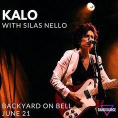 Reposting BandSource: Tonight\'s the night! Catch local rock artist @silasnello + blues rocker @kaloblues LIVE at @backyardonbell for a FREE show! SEXY GUITAR. INFECTIOUS RHYTHMS. SMOKY VOCALS!! #KaloBlues #SilasNello #Dentoning #DentonMusic #DentonTX #BluesRock #BandSource #BackYardOnBell