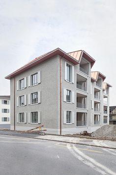 Wohnen unter dem Schrägdach - Ersatzneubau Schachenstrasse