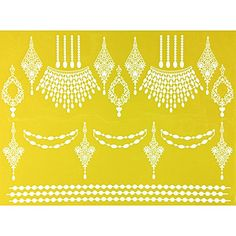 Chandelier Decor Silicone Lace Mat by Chef Alan Tetreault