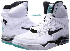 size 40 57c36 6e7f0 men shoes Nike Air Command Force White Black Grey Jade Robinson Spurs SZ  10.5