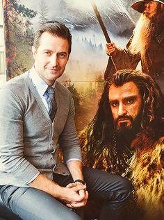 Richard Armitage (The Hobbit photocall)