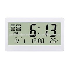 Thermometer alarm clock, new item and nice function