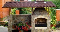 Камин-барбекю с отделкой фото Patio, Outdoor Decor, Home Decor, Decoration Home, Room Decor, Home Interior Design, Home Decoration, Terrace, Interior Design