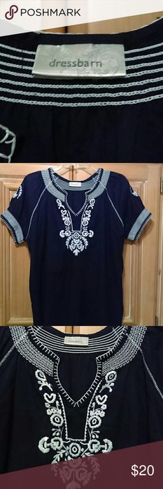 Top dressbarn Pre owned good condition Tops Blouses