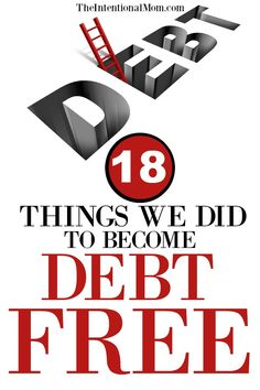 You too can become debt free with these money saving, frugal tips & straightforward tricks. It's not easy, but it can be done. You can do it! #debtfree #savemoney #moneyhelp via @www.pinterest.com/JenRoskamp
