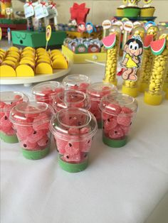 21 Ideas Baby Girl Birthday Watermelon For 2019 Watermelon Birthday Parties, Fruit Birthday, 2nd Birthday Party Themes, Flamingo Birthday, Fruit Party, Flamingo Party, First Birthday Parties, First Birthdays, Happy Birthday B