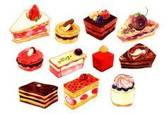 Cake Illustration