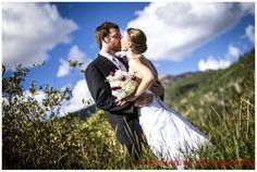 vail racquet club outdoor ceremony mountain wedding