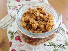 The Country Cook: Honey Granola