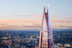 The Shard ou La London Bridge Tower à Londres
