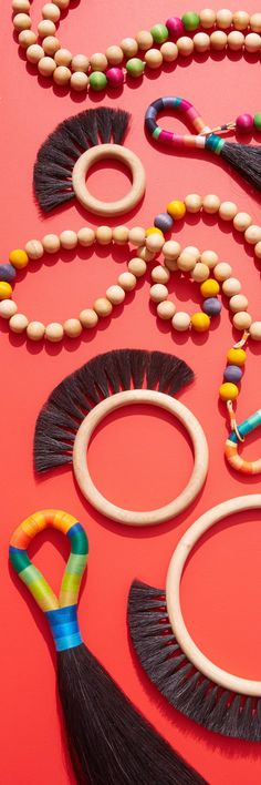 A stunning set of bright hoop brushes! Experience Map, Shape And Form, Automotive Design, Consumer Products, Housekeeping, Industrial Design, Color Patterns, Design Trends, Brushes