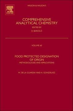 Food protected designation of origin : methodologies and applications / Miguel de la Guardia and Ana Gonzálvez, [editors]. Amsterdam [etc.] : Elsevier, cop. 2013. [Febrer 2014] #novetatsfarmacia #CRAIUB