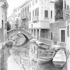 Venetian Boats by Diane Cardaci.